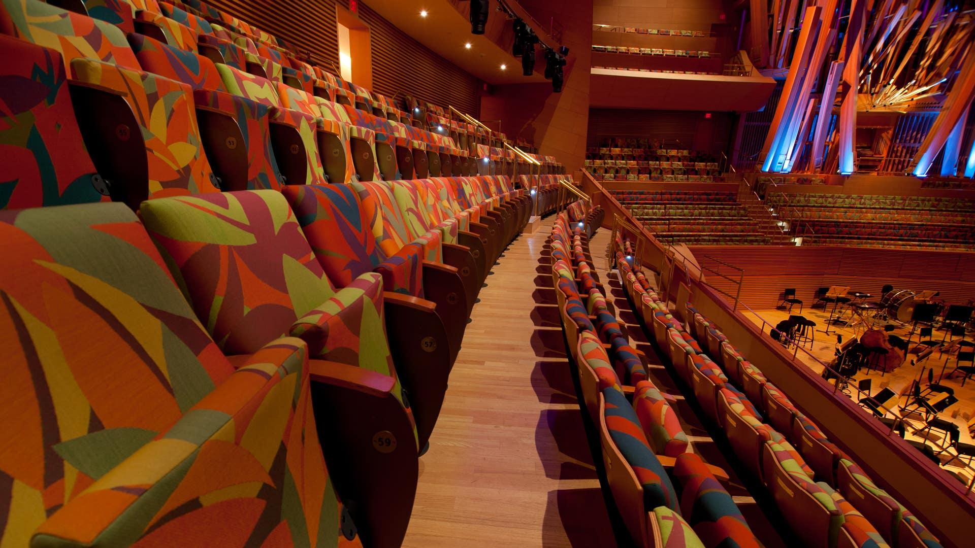 Seating at Walt Disney Concert Hall
