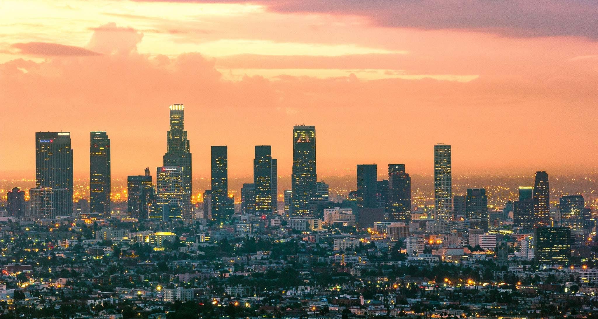 MeetLA Downtown LA Skyline