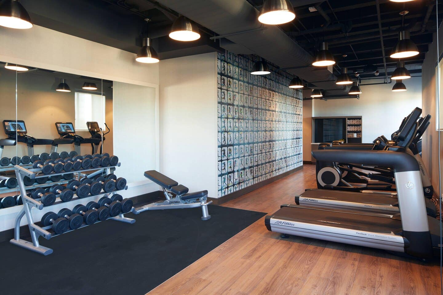 Fitness Center at the AC Hotel Beverly Hills