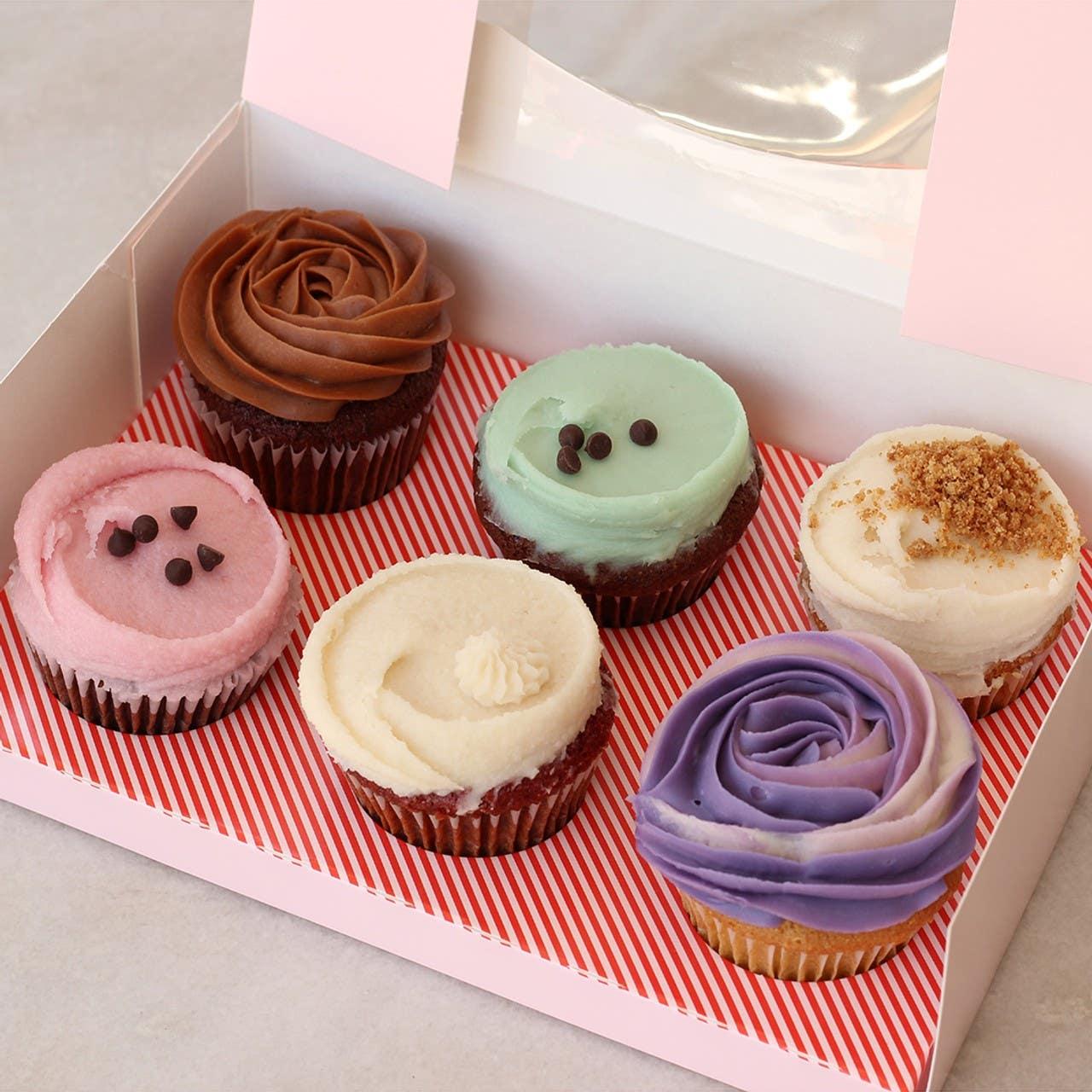 Vegan cupcakes from Erin McKenna's Bakery in Larchmont Village