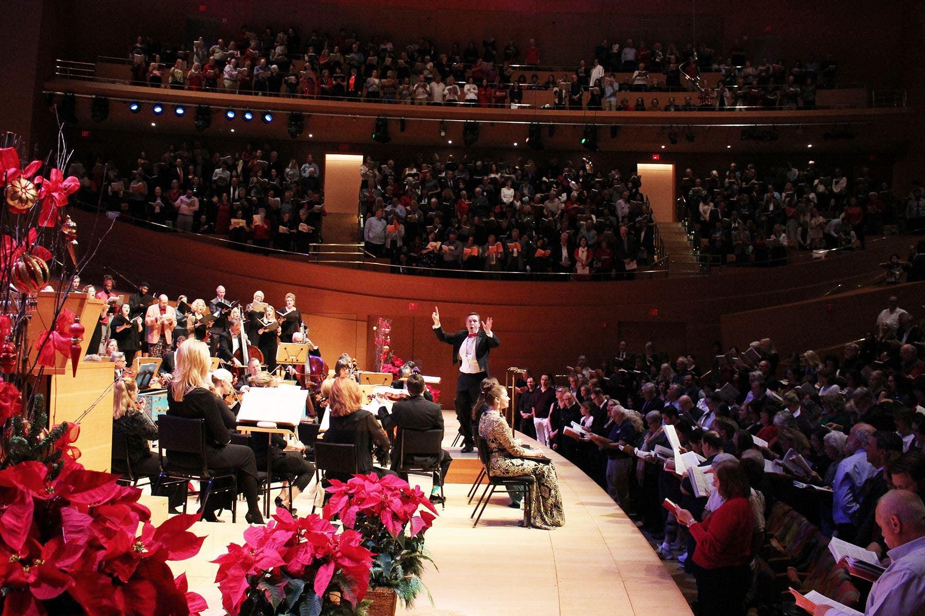 "LA Master Chorale 37th Annual ""Messiah"" Sing-Along at Walt Disney Concert Hall"
