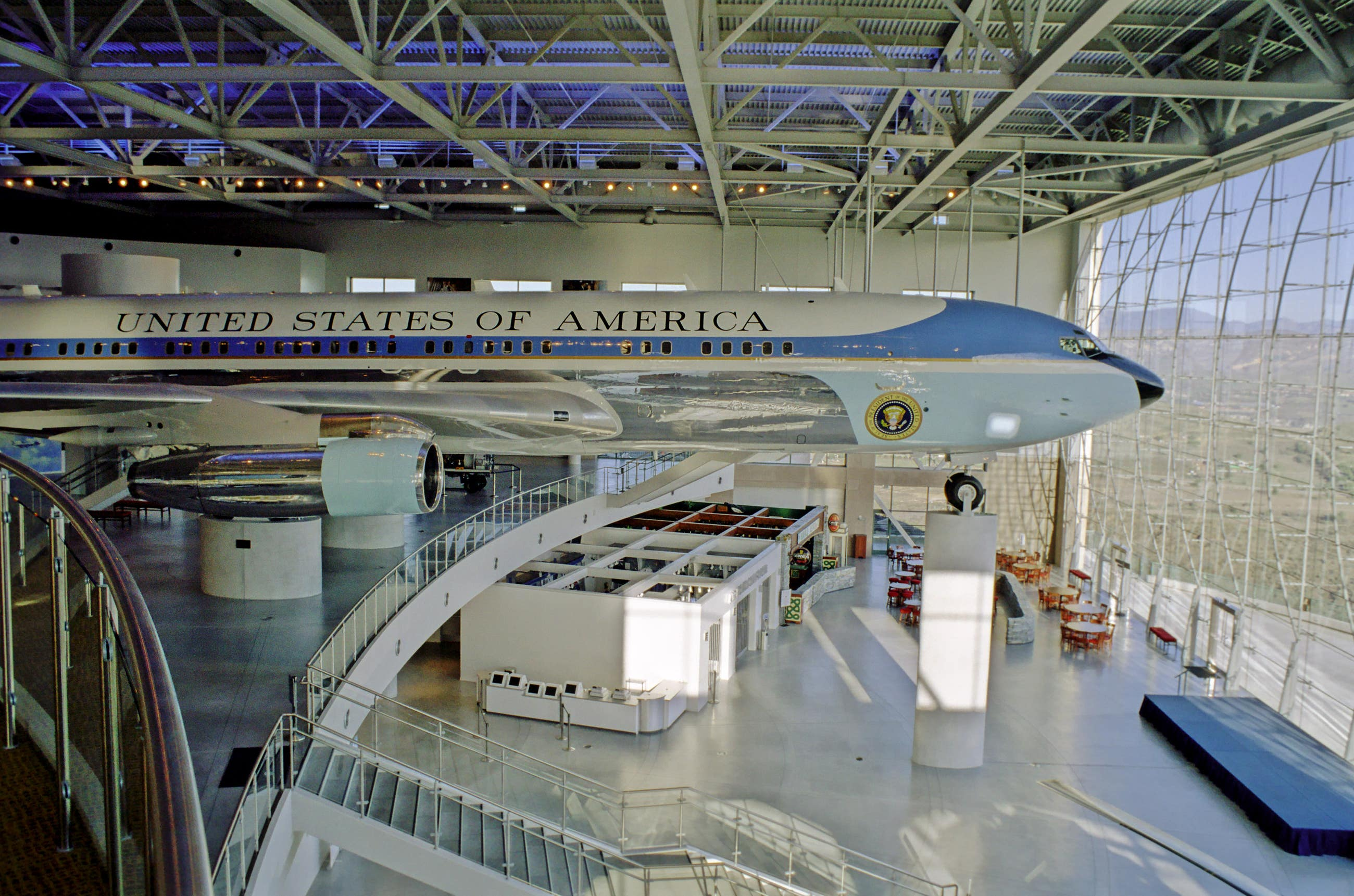 Air Force One Pavilion at the Ronald Reagan Presidential Library