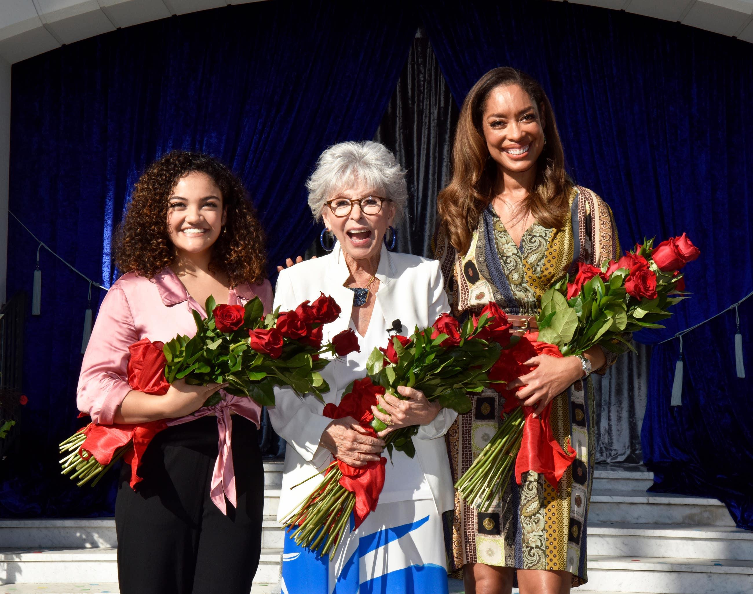 Tournament of Roses 2020 Grand Marshals Laurie Hernandez, Rita Moreno and Gina Torres