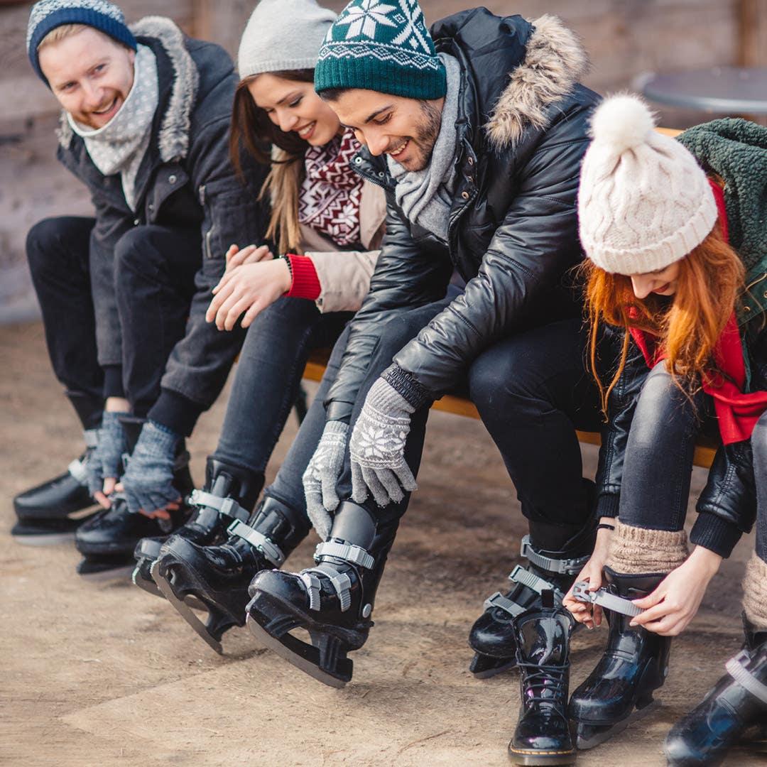 Holiday Skating Rink at Westfield Century City
