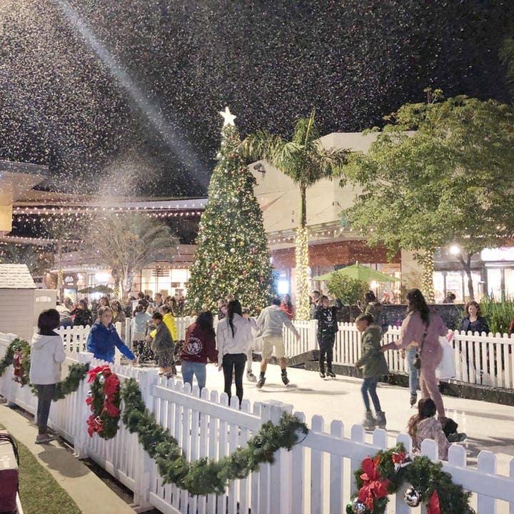 Winter Nights at Westfield Santa Anita