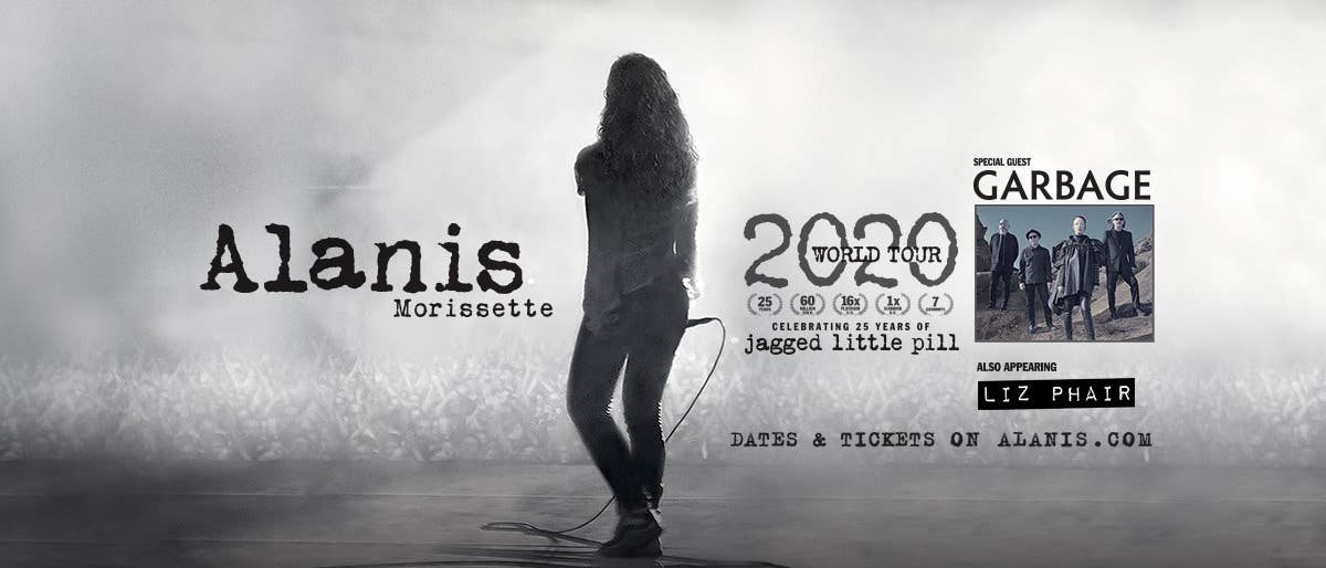 Alanis Morissette 2020 World Tour at the Hollywood Bowl