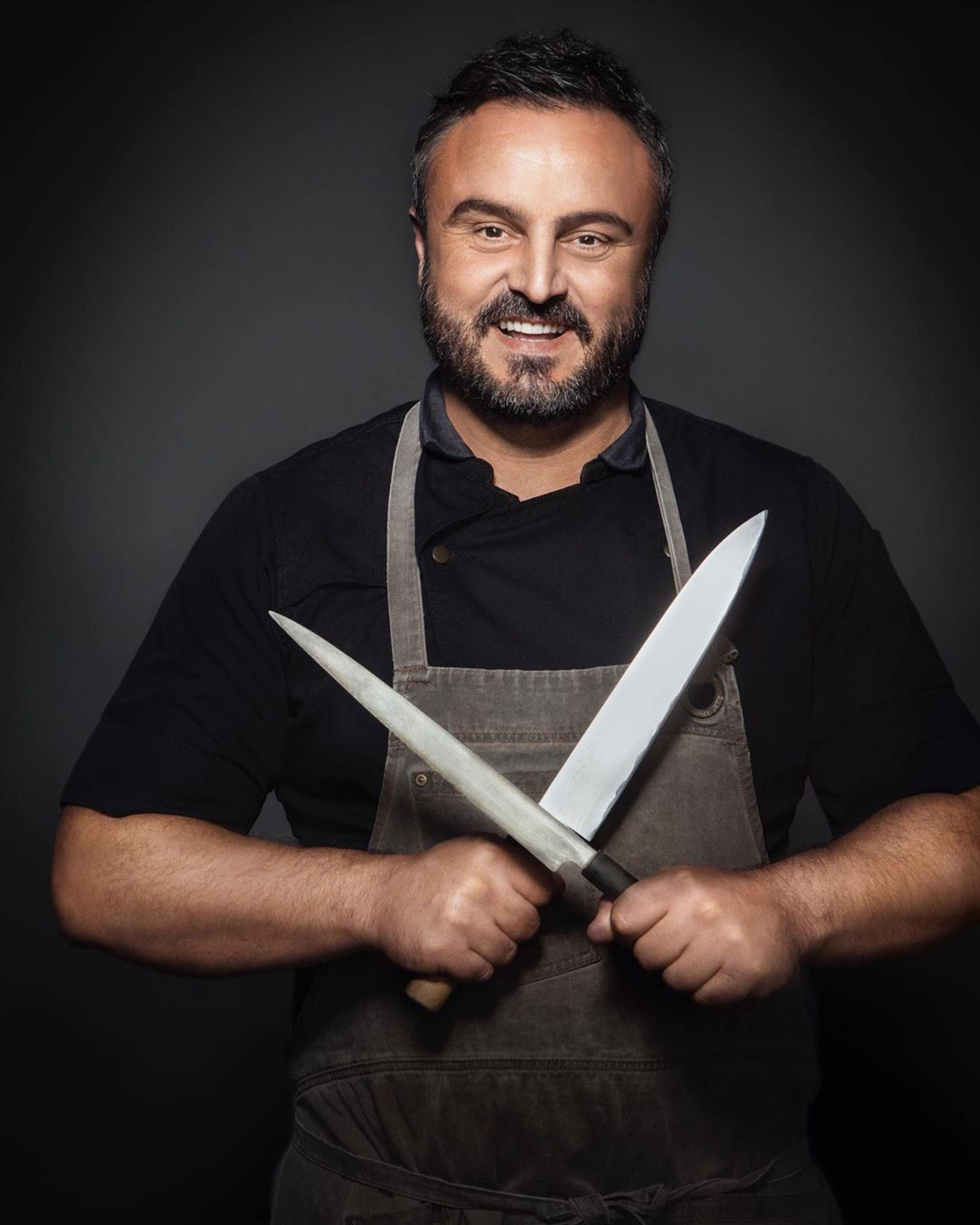 Chef Brendan Collins at Fia Restaurant in Santa Monica