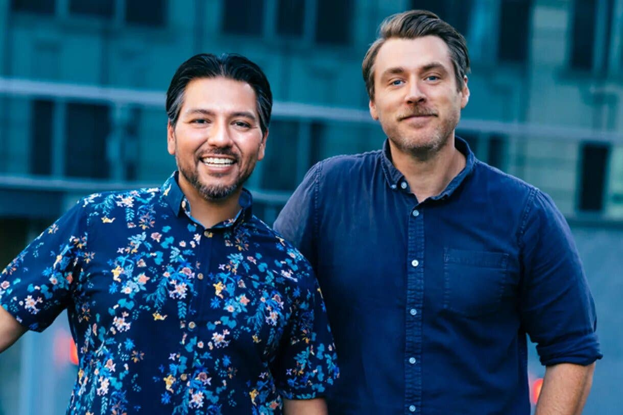 Ray Garcia and Beau Laughlin of Trademark in Downtown LA
