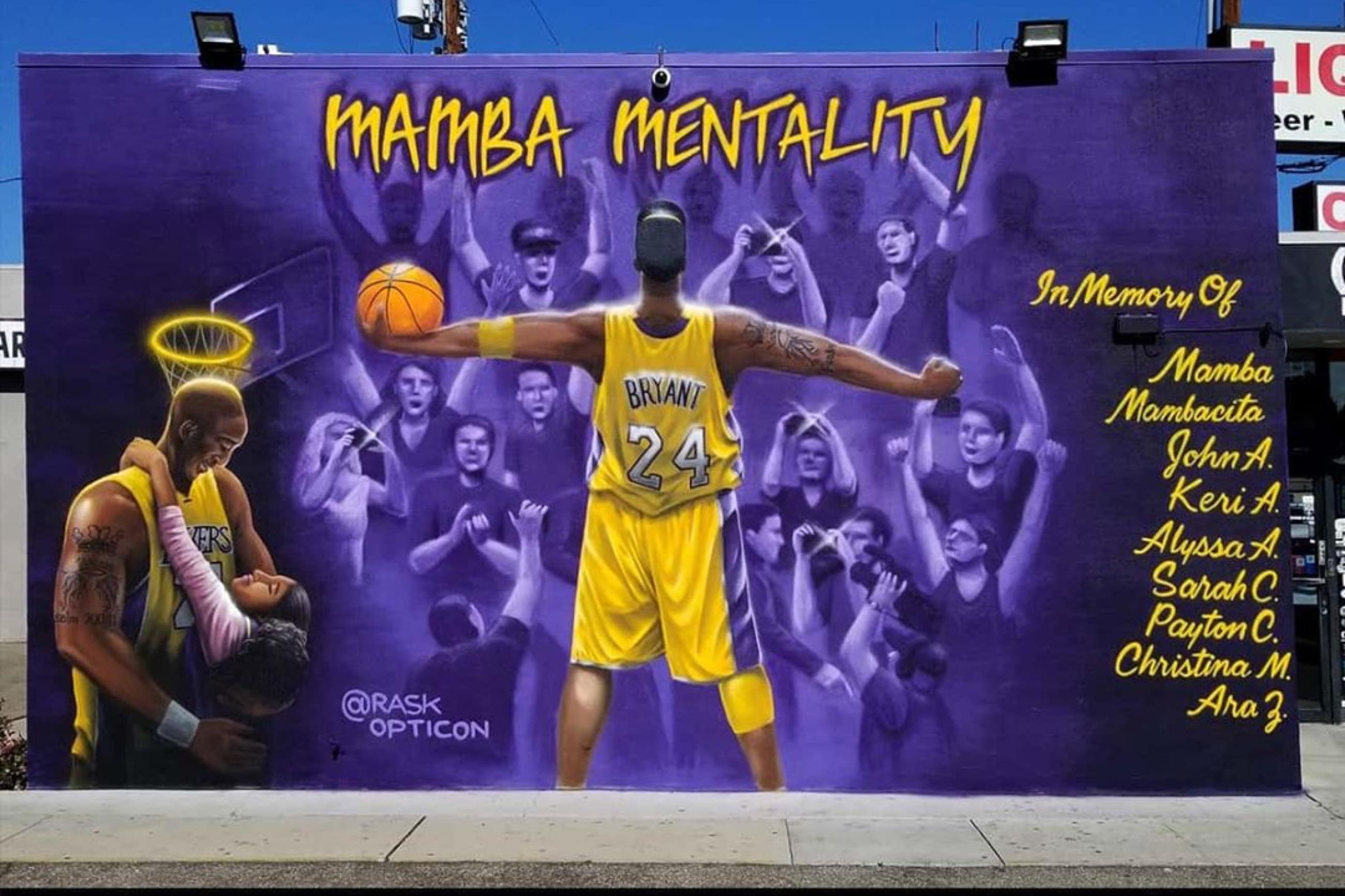 """Mamba Mentality"" by Rask Opticon at 3TEN Liquor in Torrance"