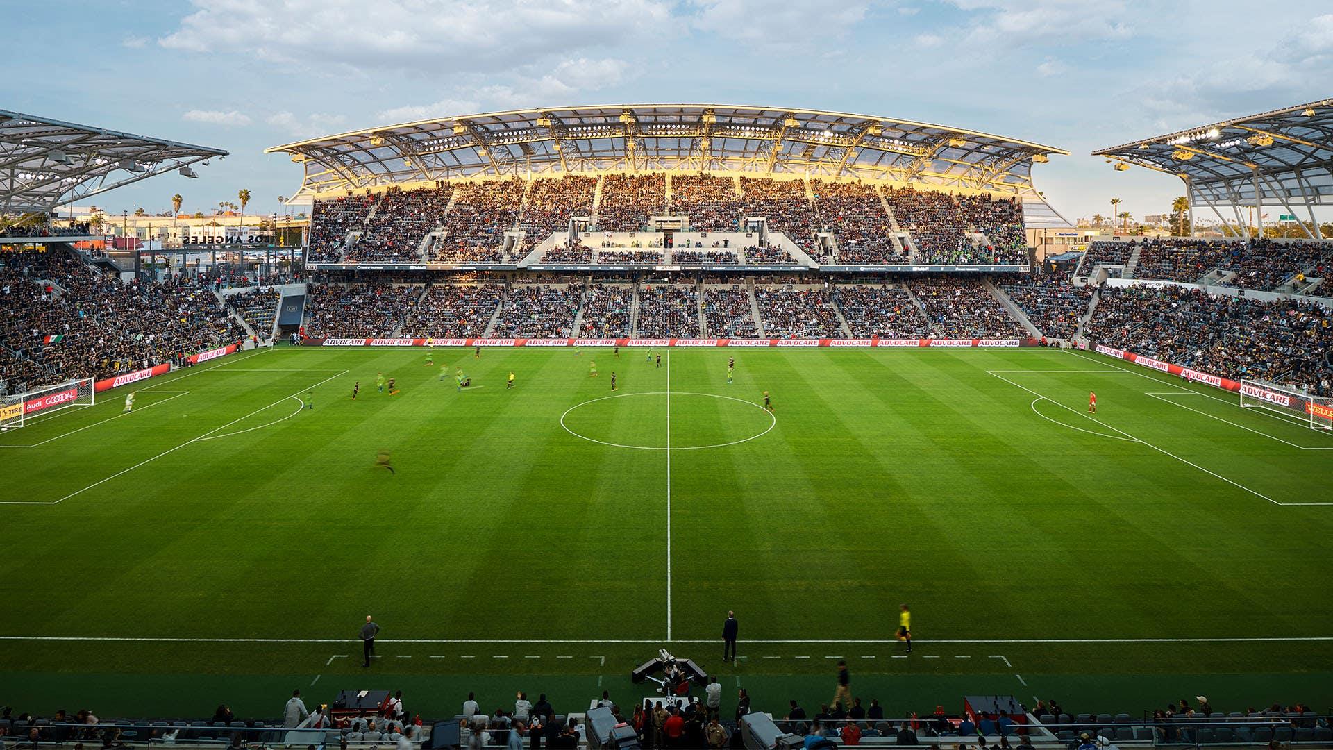 LAFC match at Bank of California Stadium