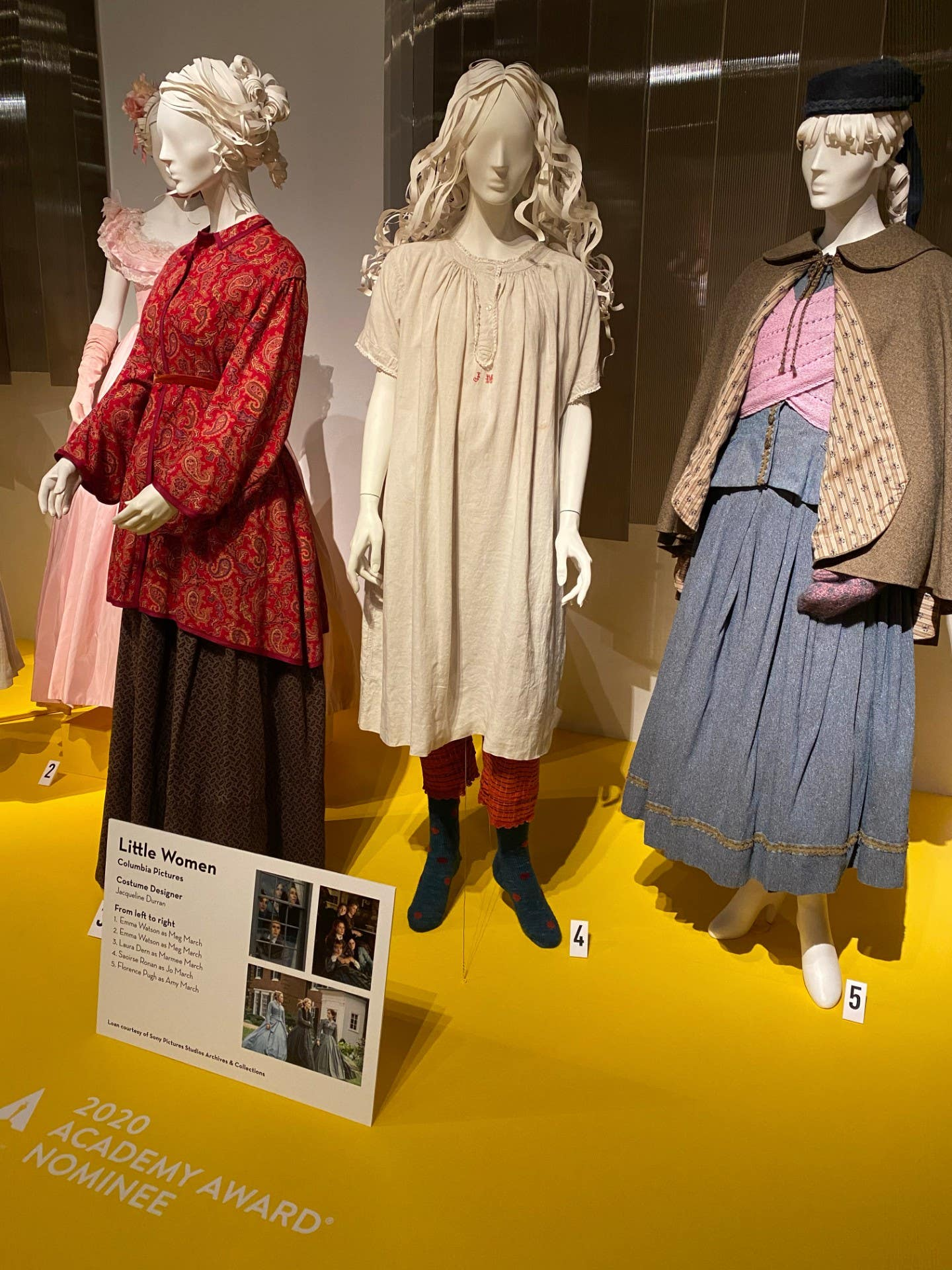 """""""Little Women"""" costumes by Academy Award winner Jacqueline Durran, on view at FIDM"""