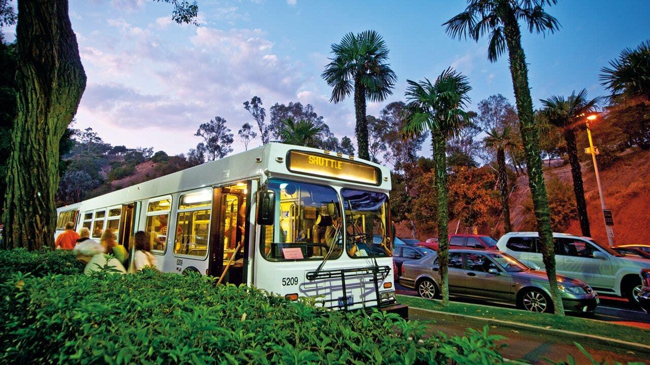 Hollywood Bowl Shuttle Bus