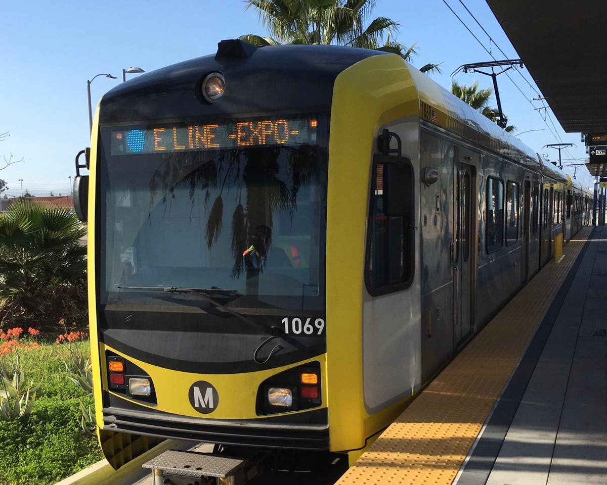 Metro E Line (Expo) train