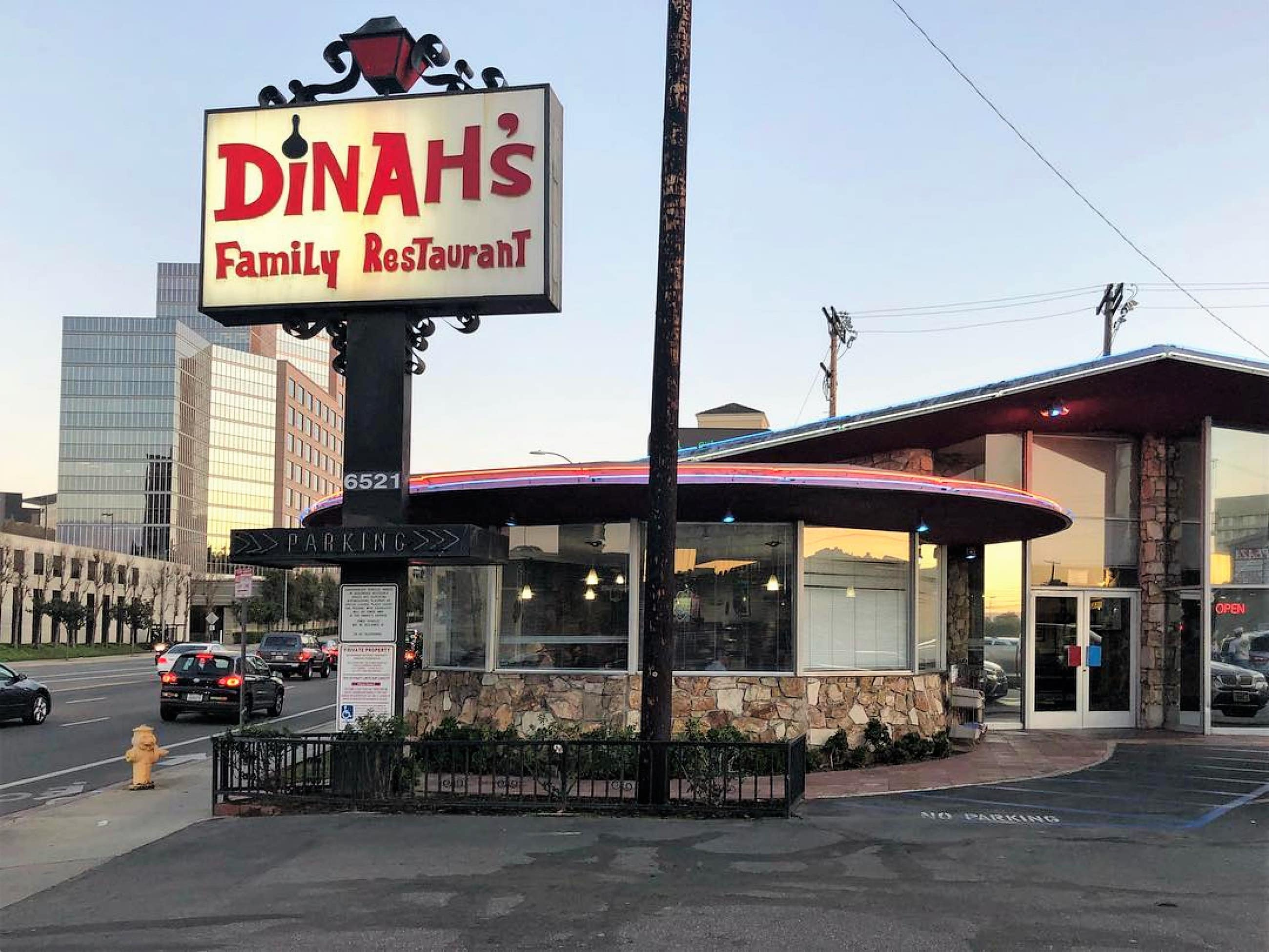 Exterior of Dinah's Family Restaurant
