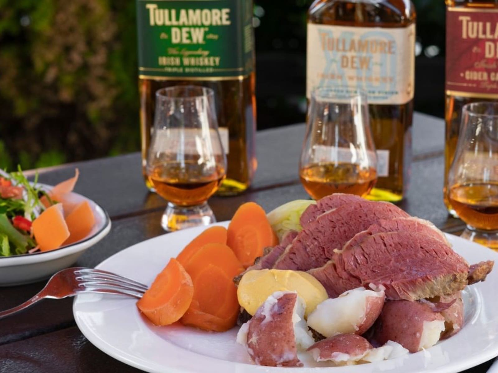 $59 March Dinner Special with corned beef at the Tam O'Shanter