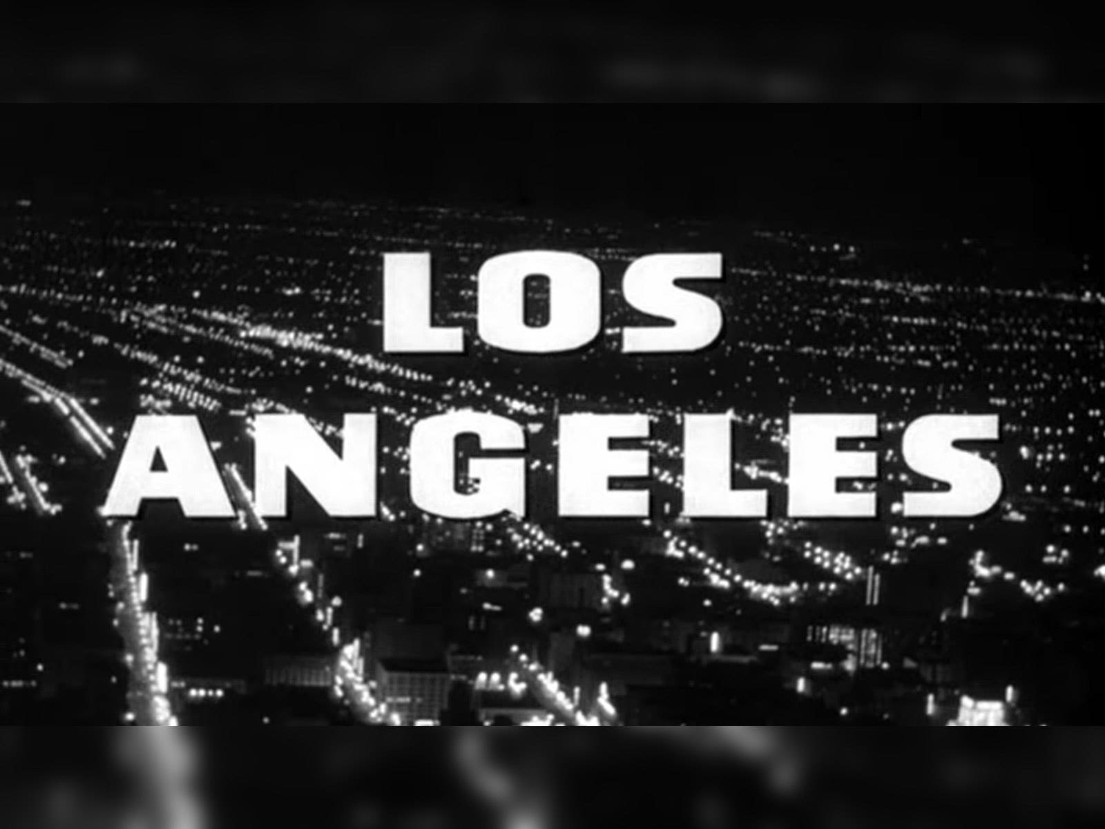 """""""Los Angeles Plays Itself"""" title card"""