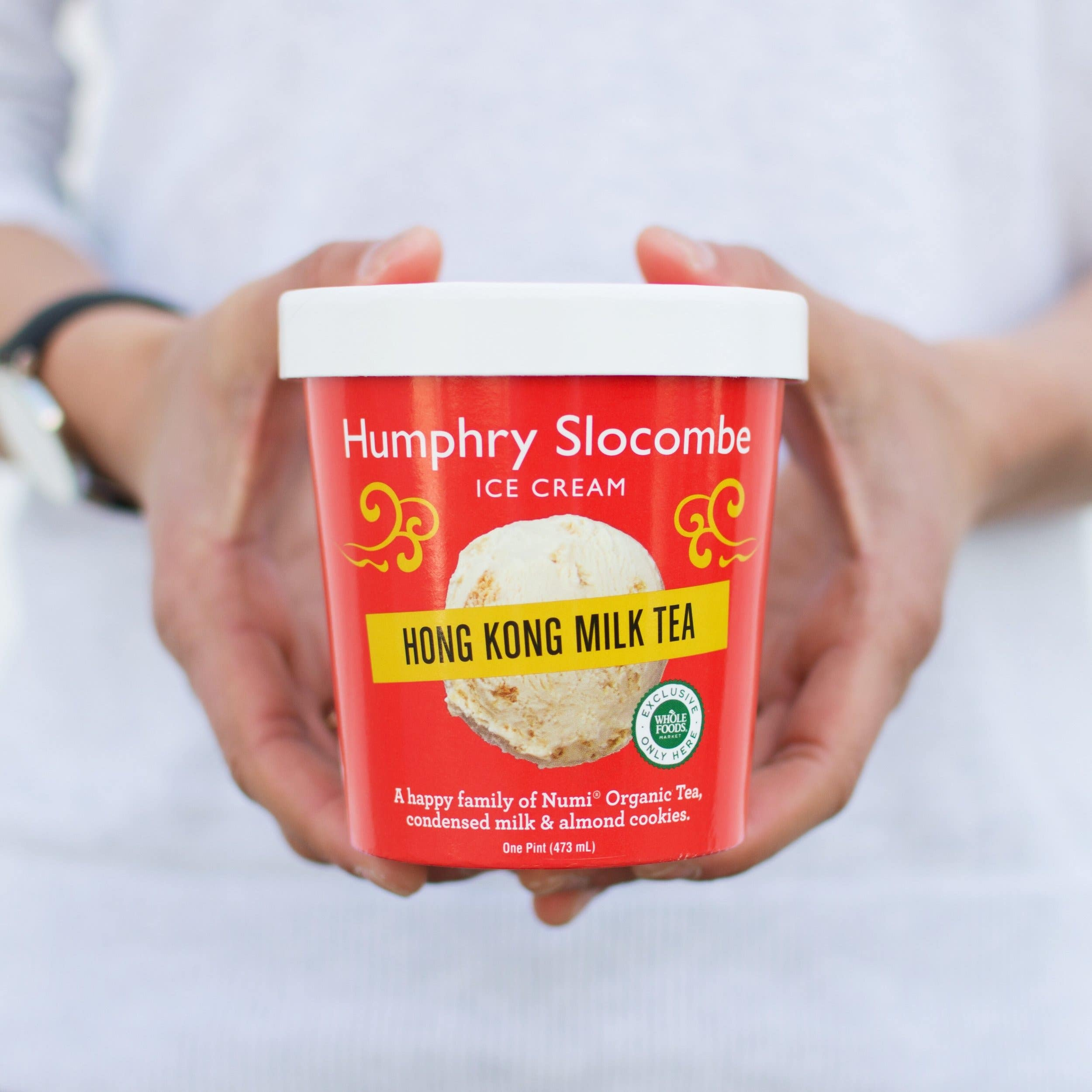 Hong Kong Milk Tea Ice Cream created by Melissa King and Humphry Slocombe