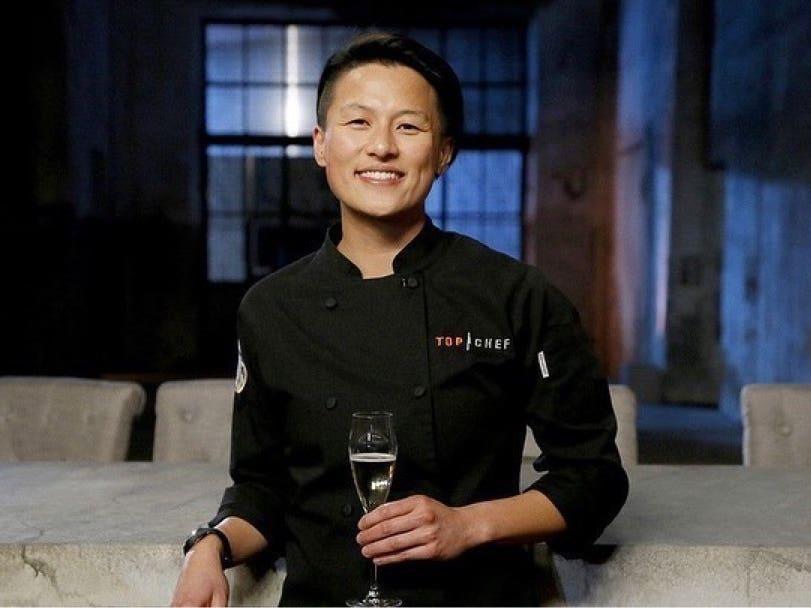"Chef Melissa King celebrates her ""Top Chef: All-Stars LA"" championship"
