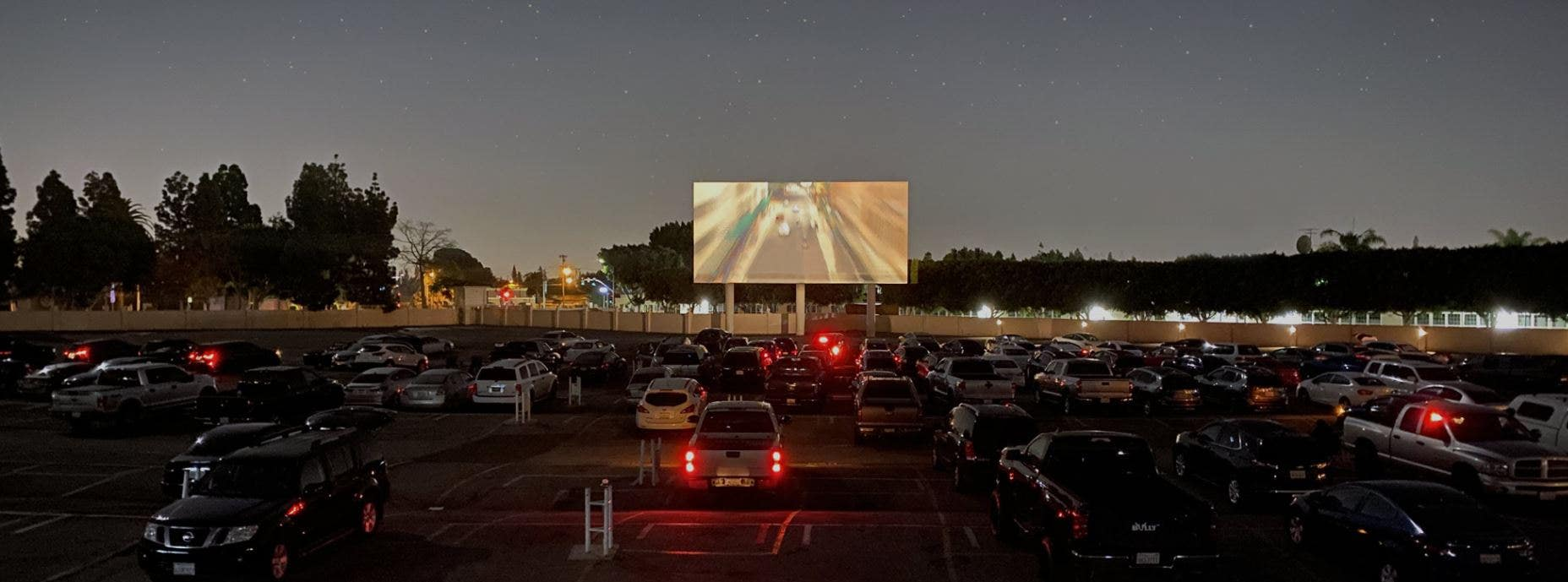 Paramount Drive In Screen