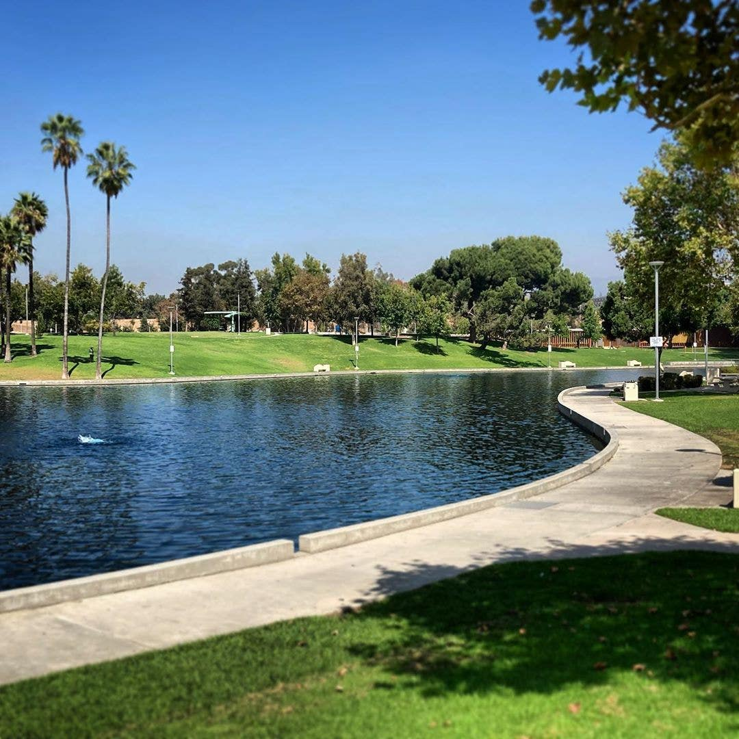 East LA Civic Center Park 2020