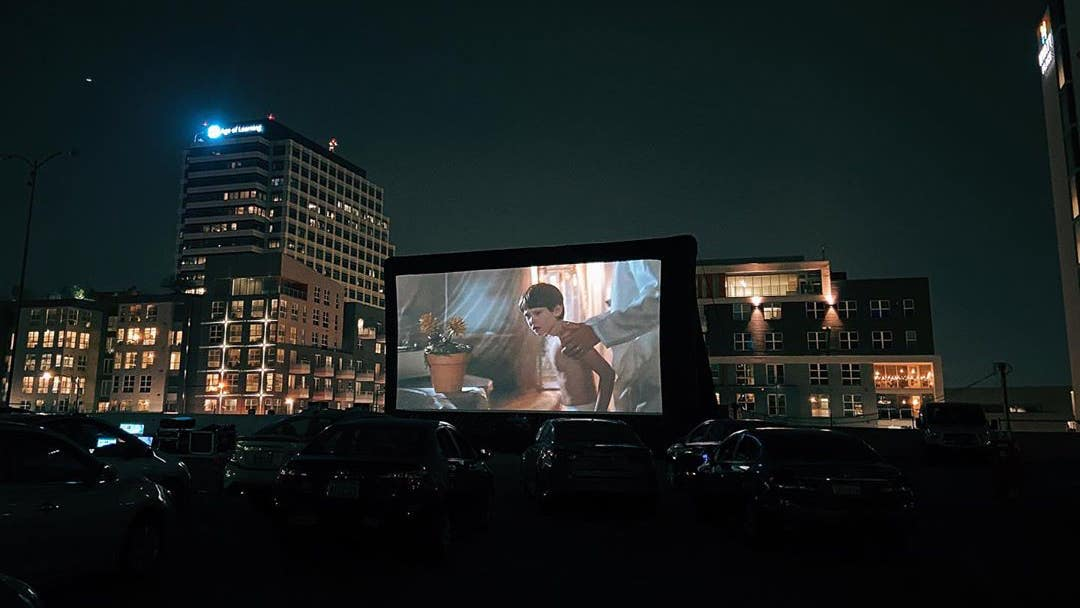 """""""E.T."""" at Electric Dusk Drive-In in Glendale"""
