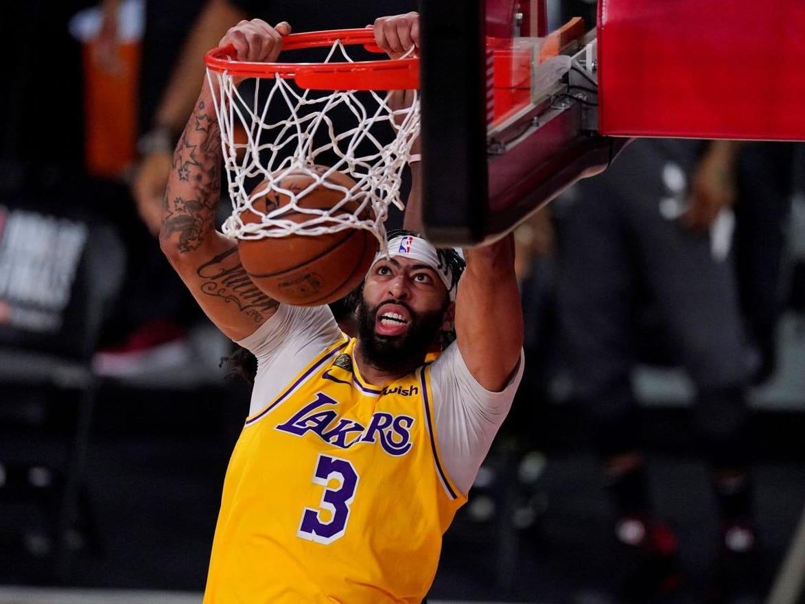 Main image for event titled LA Lakers vs. Boston Celtics (FANS RETURN)