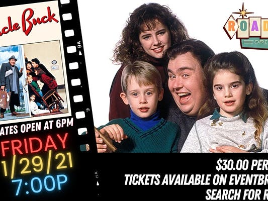 Main image for event titled UNCLE BUCK - Presented by the Roadium Drive-In