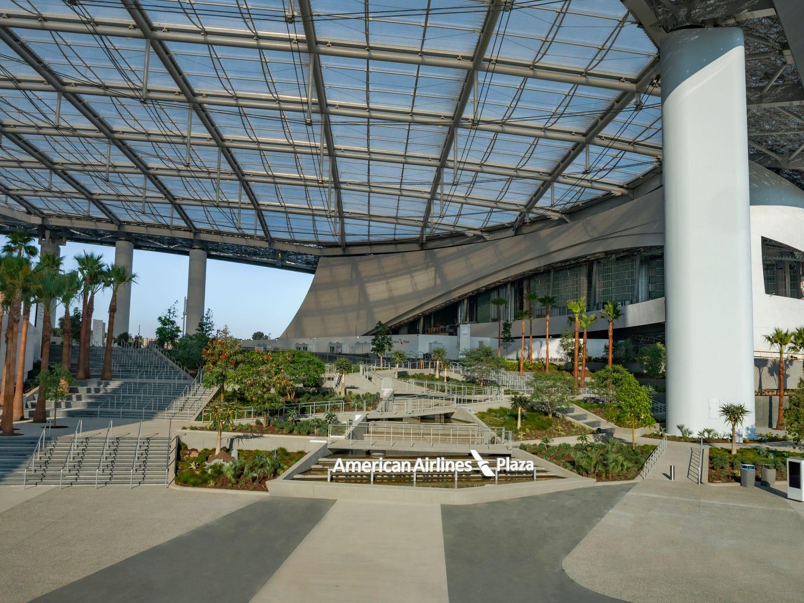 American Airlines Plaza at SoFi Stadium