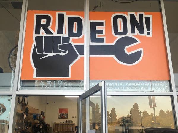 Ride On! Bike Shop/Co-Op in Leimert Park