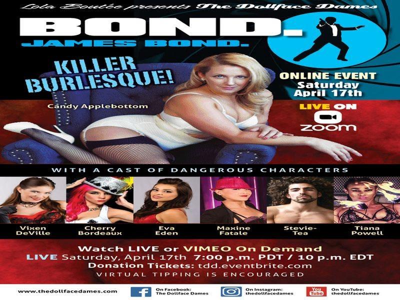The Dollface Dames Bond. James Bond!