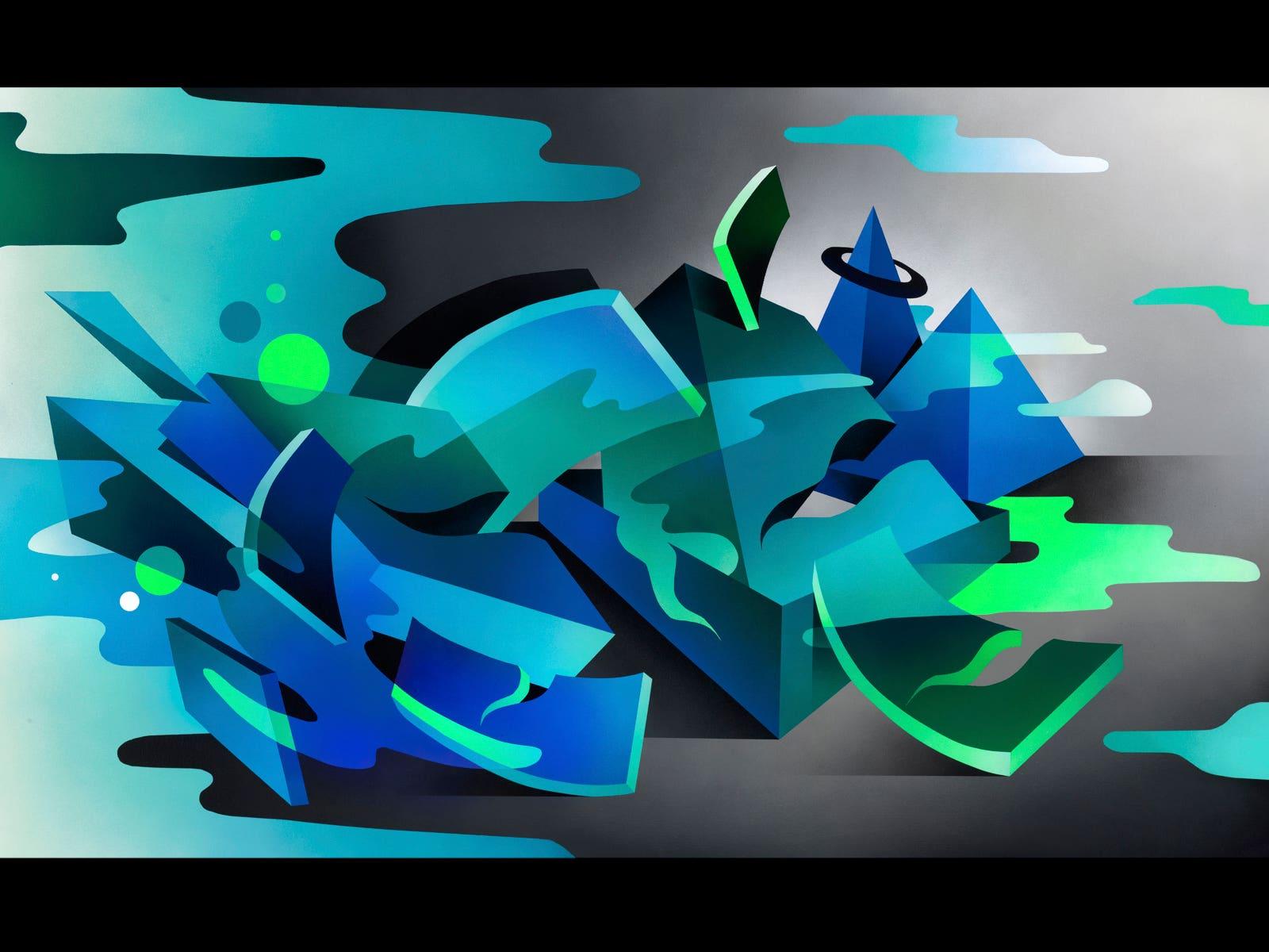 Image courtesy Maddox Gallery, Artist: Mikael B