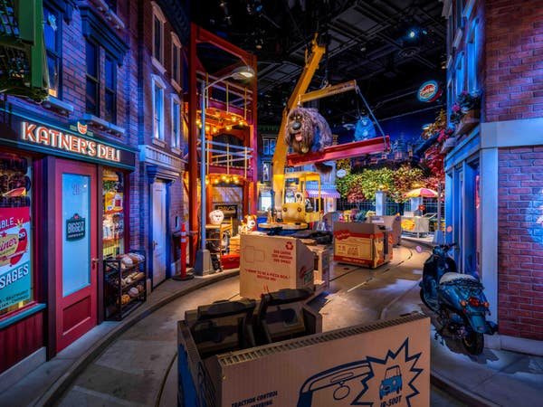The Secret Life of Pets: Off the Leash at Universal Studios Hollywood