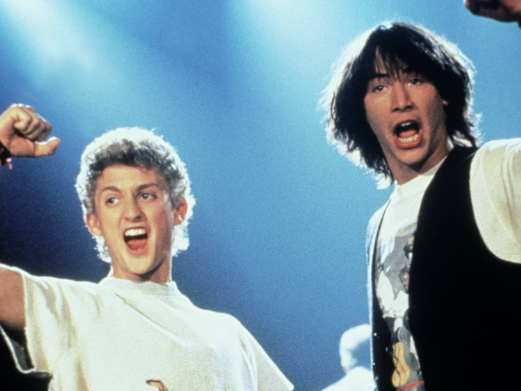 Main image for event titled Bill & Ted's Excellent Adventure at the Drive-In at Santa Monica Airport    - Cloned