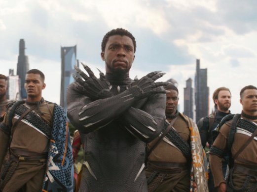 Main image for event titled Black Panther at the Drive-In at Santa Monica Airport