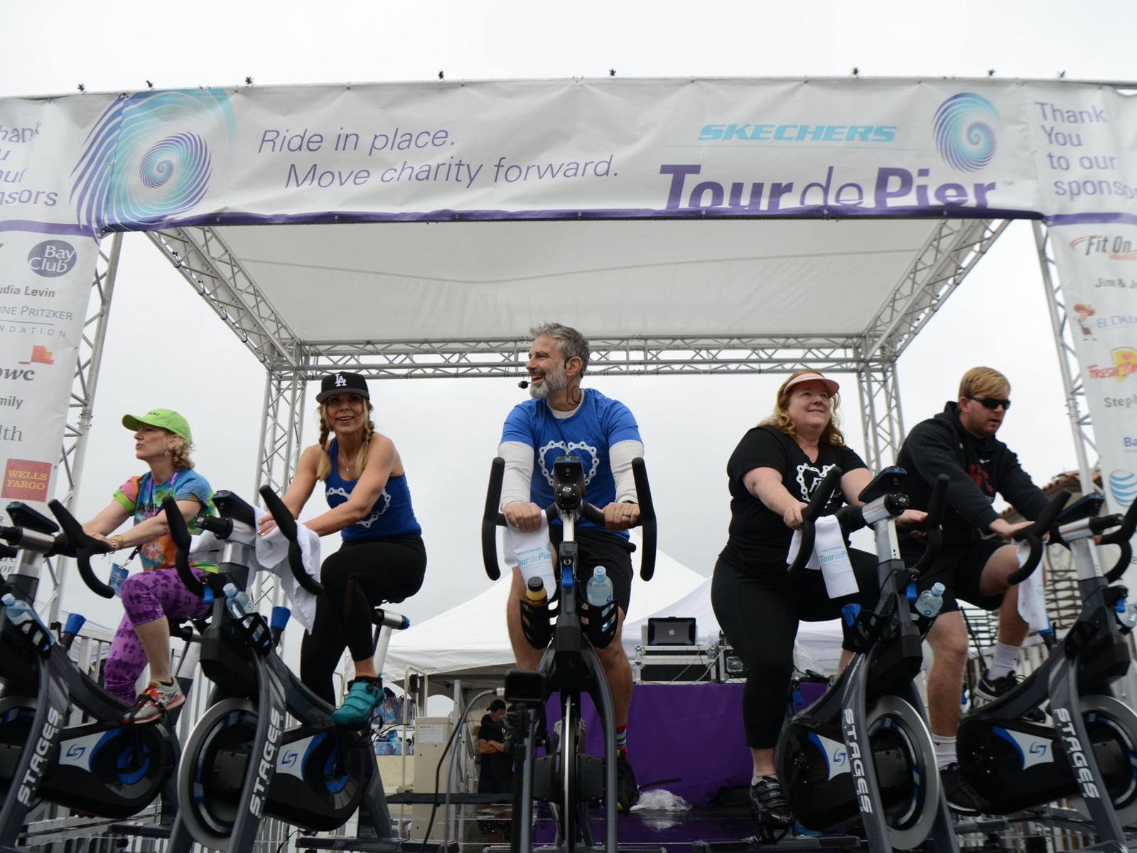 Tour De Pier Ride Stage