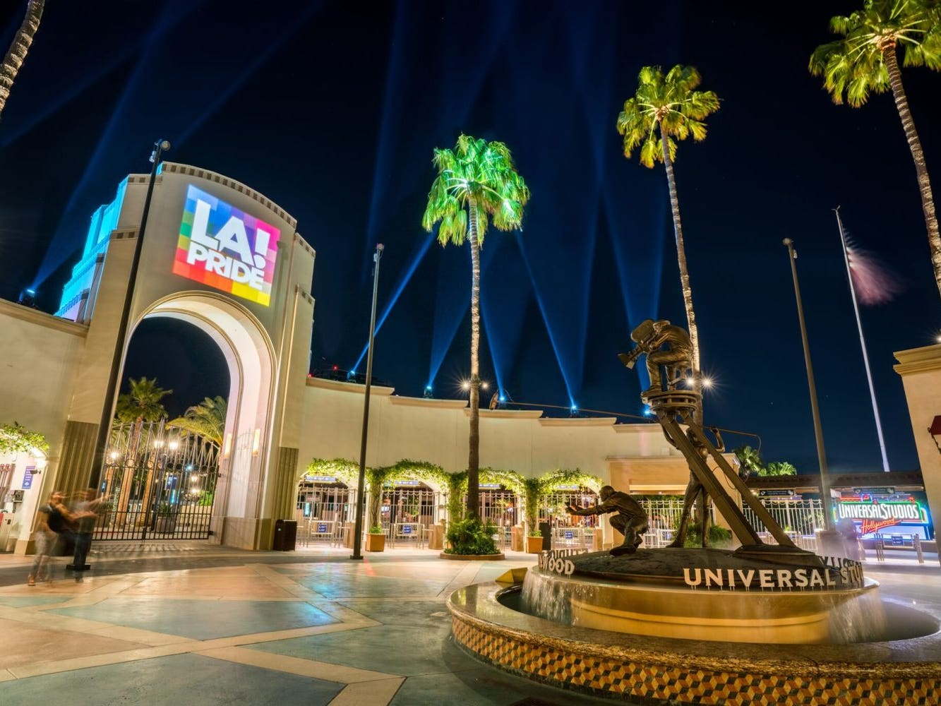 Main image for event titled Pride is Universal 2021 at Universal Studios Hollywood