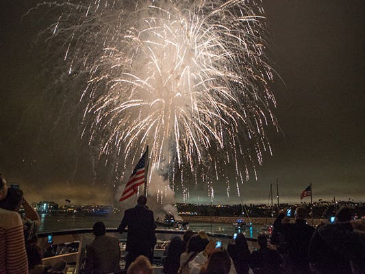 Main image for event titled July 4th at the Marina
