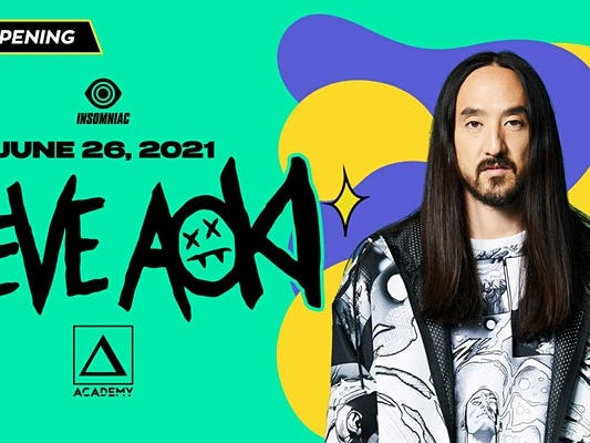 Main image for event titled Steve Aoki