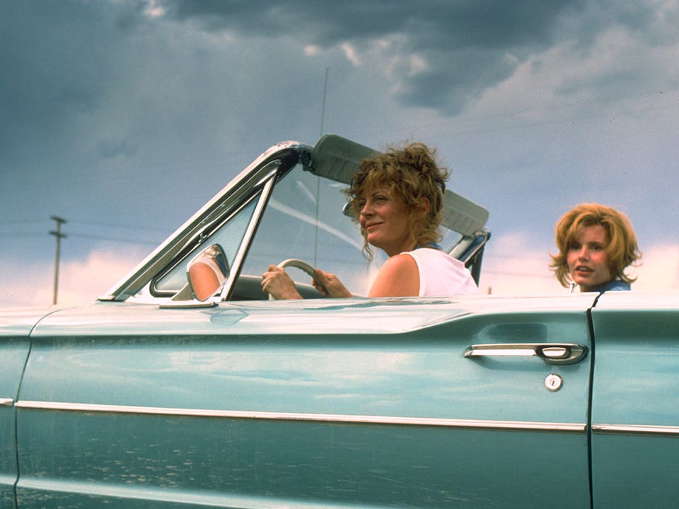 Main image for event titled Cinespia at the Greek: THELMA AND LOUISE 30TH ANNIVERSARY DRIVE-IN CHARITY SCREENING EXPERIENCE (SOLD OUT)