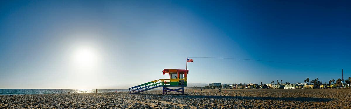 Venice Beach Lifeguard Tower