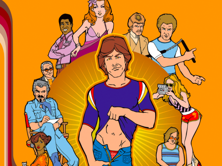 Main image for event titled Boogie Nights (1997): at the Hollywood Legion Drive-in Theater