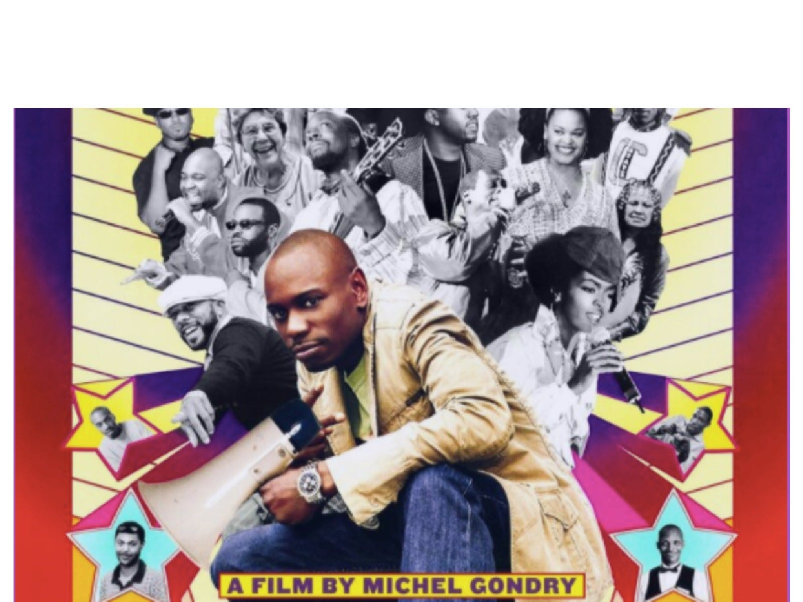 Main image for event titled DAVE CHAPPELLE'S BLOCK PARTY