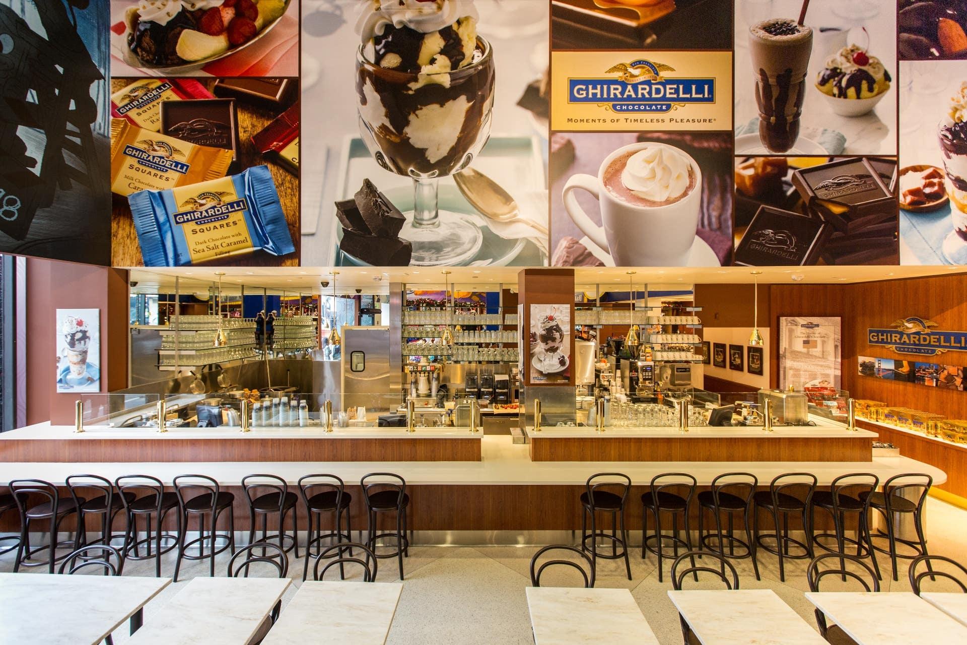 Ghirardelli Soda Fountain & Chocolate Shop in Hollywood