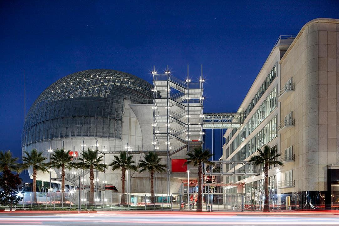 Academy Museum Exterior Dome 2021