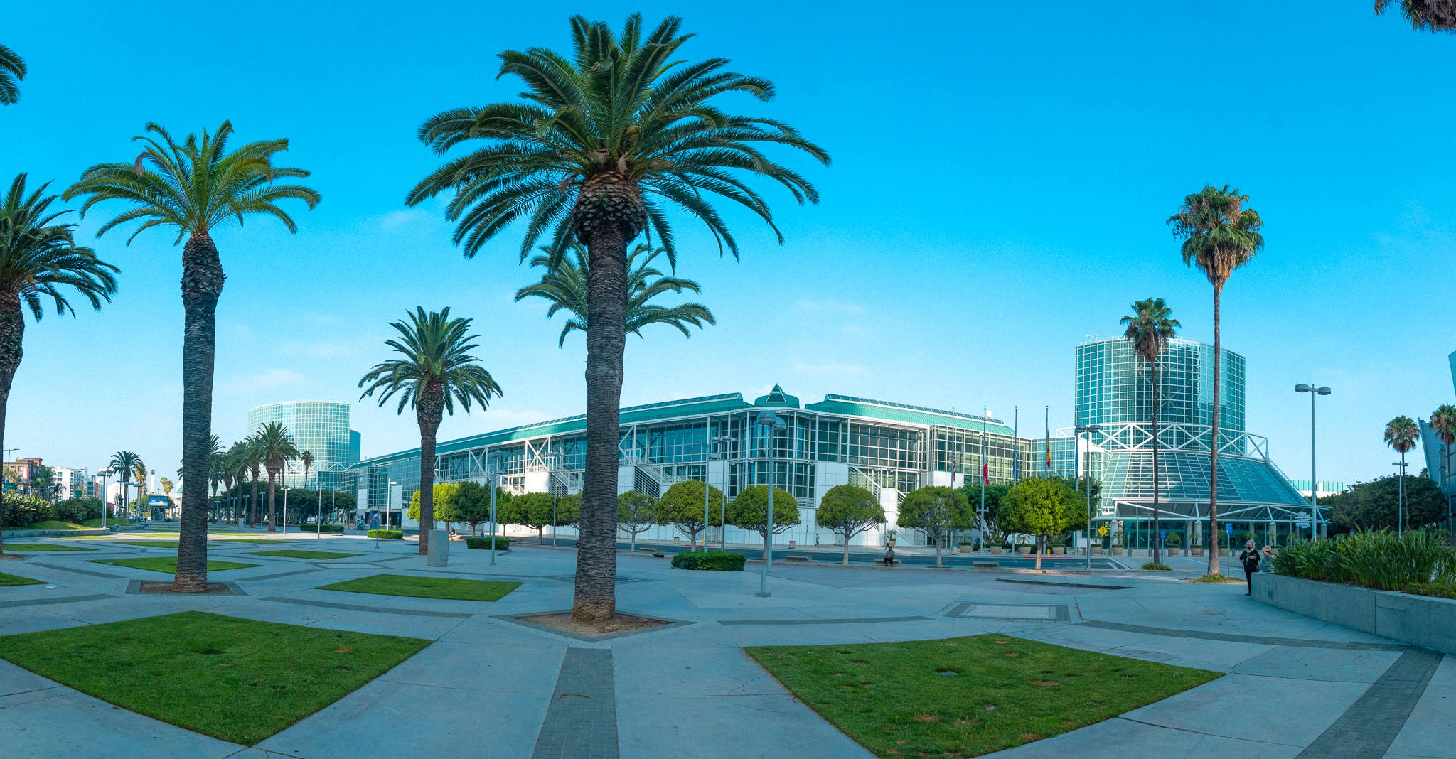 Los Angeles Convention Center panoramic
