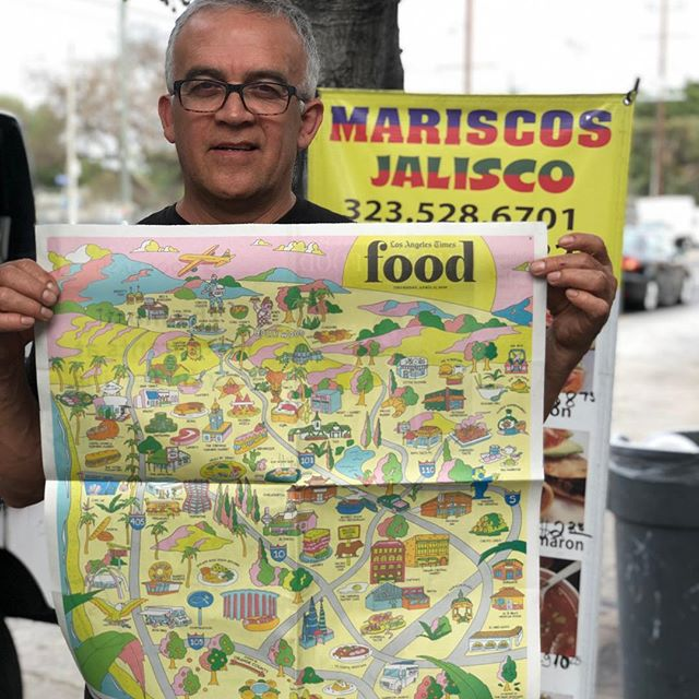 Instagram image from Mariscos Jalisco