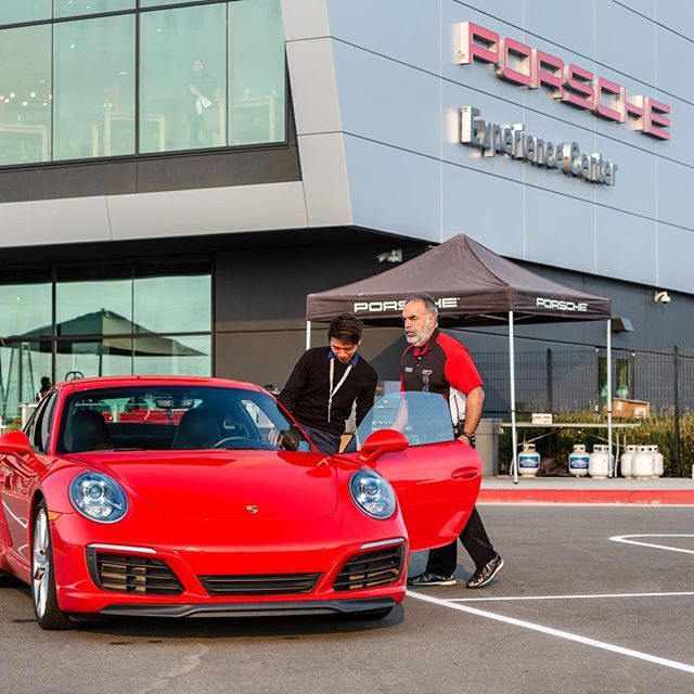 Instagram image from Porsche Experience Center LA