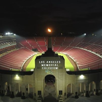 Instagram image from Los Angeles Memorial Coliseum