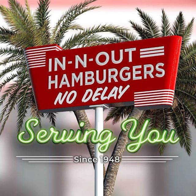 Instagram image from In-N-Out Burger