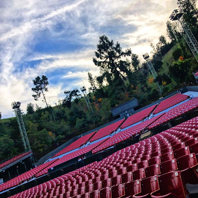 Instagram image from The Greek Theatre